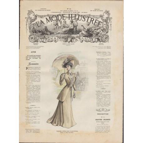 Revue complète de La Mode Illustrée 1908 N°13