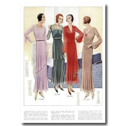 Fashion plates La Coquette 1935 10