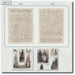 Patrons de La Mode Illustrée 1882 N°17