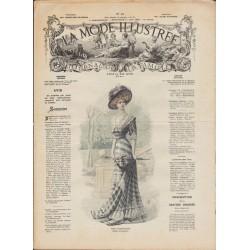 Revue complète de La Mode Illustrée 1908 N°24