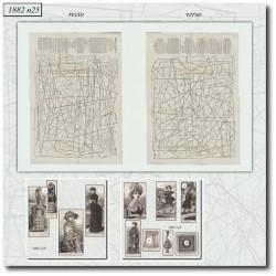 выкройку La Mode Illustrée 1882 N°25