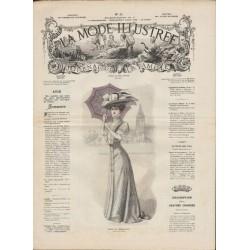 Revue complète de La Mode Illustrée 1908 N°32