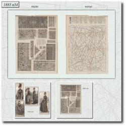 Sewing patterns Mode Illustrée 1885 34