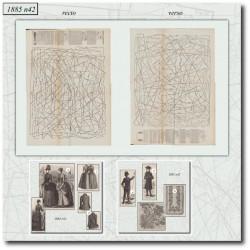 Sewing patterns Mode Illustrée 1885 42