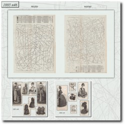 Sewing patterns Mode Illustrée 1885 46