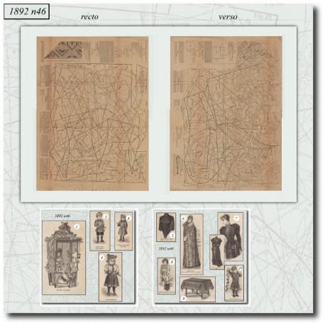 Sewing patterns-doll-dolly-La Mode Illustrée-1892-46
