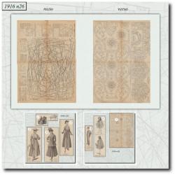 Patrons-costume-manteau-1916-26
