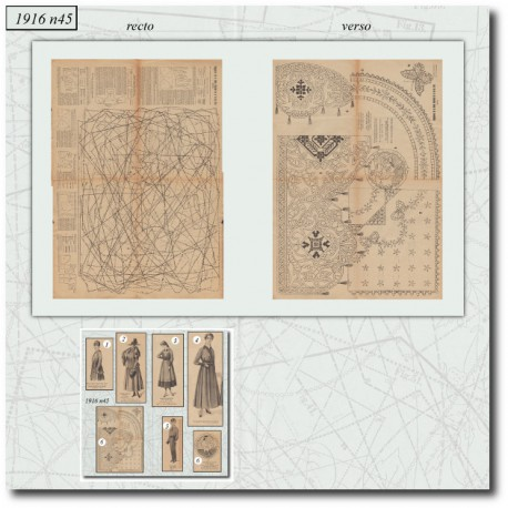 Sewing patterns-dress-dentelle-milanaise-1916-45
