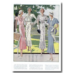 Fashion plates La Coquette 1935 15