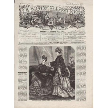 Revue complète de La Mode Illustrée 1873 N°36