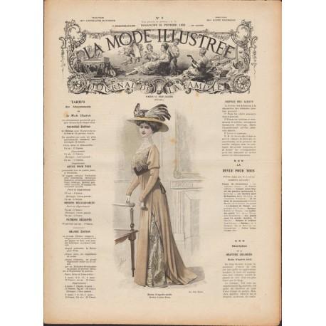 Complete magazine La Mode Illustrée 1909 N°09