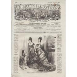 Complete magazine La Mode Illustrée 1877 N°03