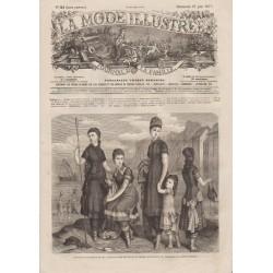 Revue complète de La Mode Illustrée 1877 N°24