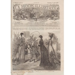 Complete magazine La Mode Illustrée 1877 N°26