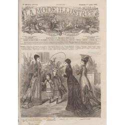 Revue complète de La Mode Illustrée 1877 N°26