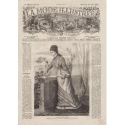 Complete magazine La Mode Illustrée 1877 N°33