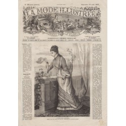 Revue complète de La Mode Illustrée 1877 N°33
