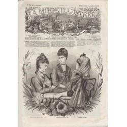 Complete magazine La Mode Illustrée 1877 N°35