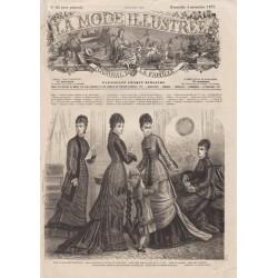 Complete magazine La Mode Illustrée 1877 N°44