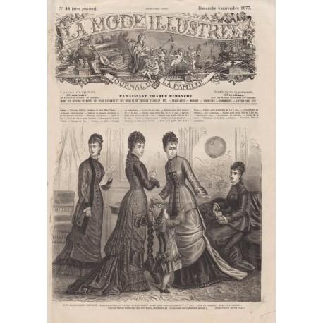 Revue complète de La Mode Illustrée 1877 N°44