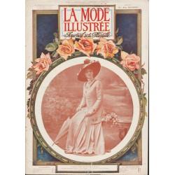 magazine La Mode Illustrée 1910 N°06