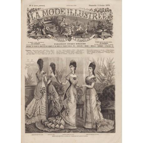 Revue complète de La Mode Illustrée 1878 N°05