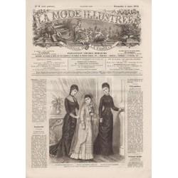 magazine La Mode Illustrée 1878-09