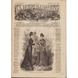 Complete magazine La Mode Illustrée 1878 N°12