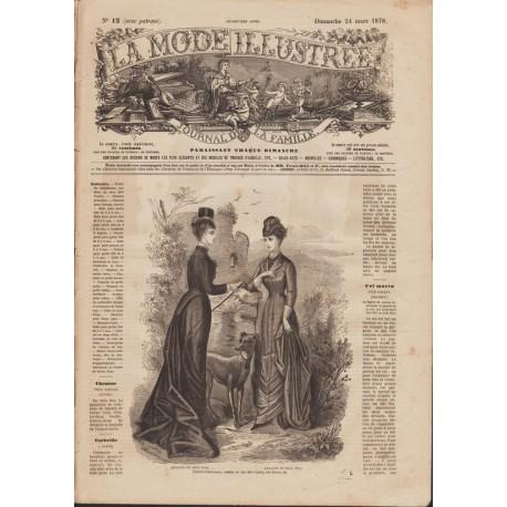 Revue La Mode Illustrée 1878-12