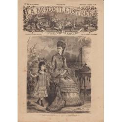 Revue complète de La Mode Illustrée 1878 N°24