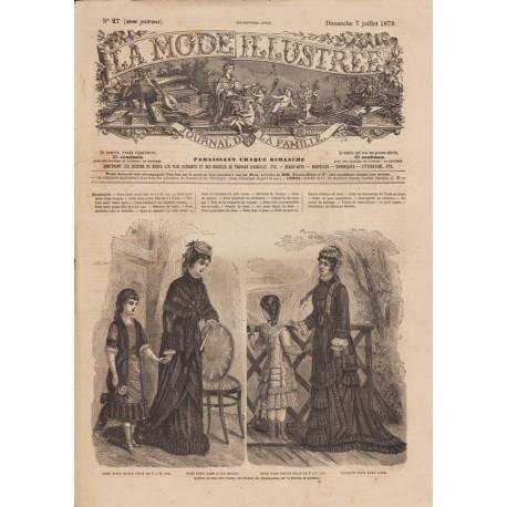 Revue complète de La Mode Illustrée 1878 N°27