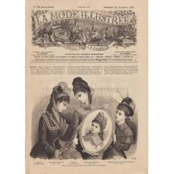 Complete magazine La Mode Illustrée 1878 N°38