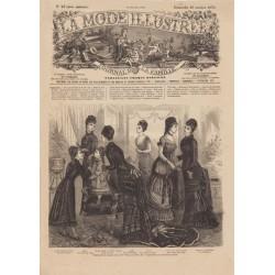 Complete magazine La Mode Illustrée 1878 N°42