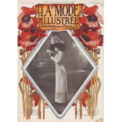 Complete magazine La Mode Illustrée 1910 N°35