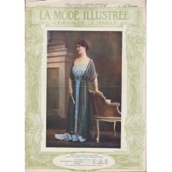 Complete magazine La Mode Illustrée 1910 N°52