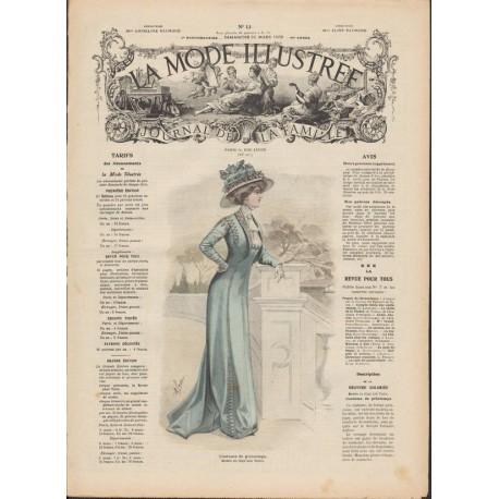 Revue complète de La Mode Illustrée 1909 N°13