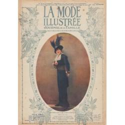 Complete magazine La Mode Illustrée 1913 N°15
