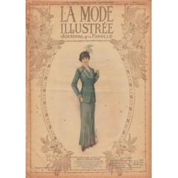 Complete magazine La Mode Illustrée 1913 N°17