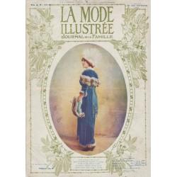 Complete magazine La Mode Illustrée 1913 N°01