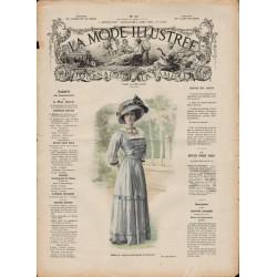 Complete magazine La Mode Illustrée 1909 N°32