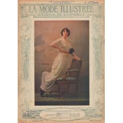 Complete magazine La Mode Illustrée 1913 N°22
