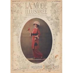 Complete magazine La Mode Illustrée 1913 N°23