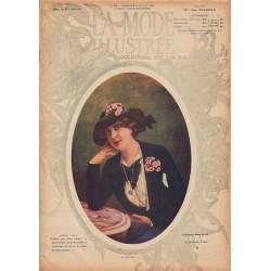 Complete magazine La Mode Illustrée 1913 N°28