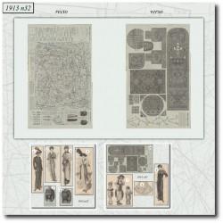 Sewing patterns La Mode Illustrée 1913 N°32