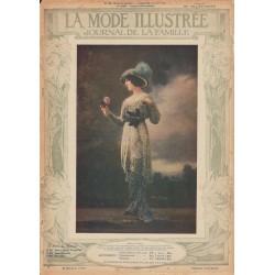 Complete magazine La Mode Illustrée 1913 N°30