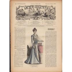 La Mode Illustrée 1900 N°5 1ère page