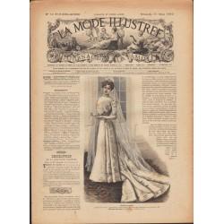 La Mode Illustrée 1900 N°10 1ère page