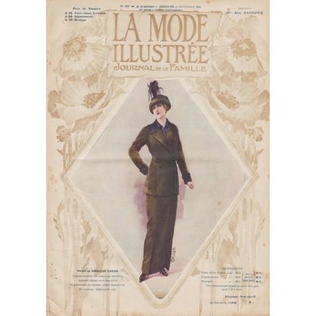 Complete magazine La Mode Illustrée 1913 N°35