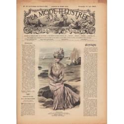 La Mode Illustrée 1900 N°23 1ère page