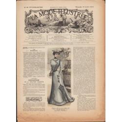 La Mode Illustrée 1900 N°29 1ère page